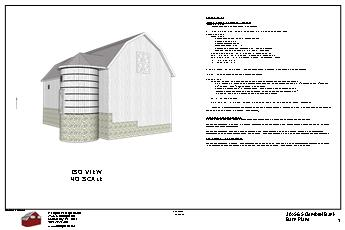 Ultimate barn plans package3 for Bank barn plans